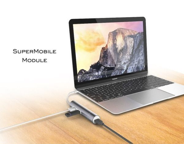 Supermobile module for your Macbook