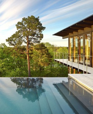 Two Storey Weekend House with Panoramic View