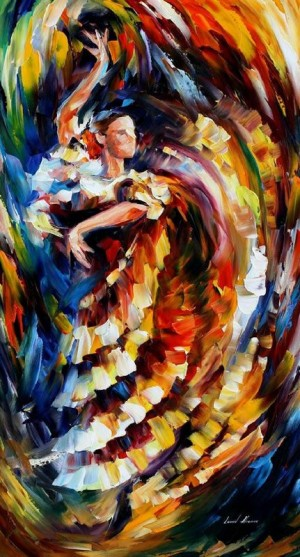 Amazing Paintings from Leonid Afremov | Flamenco, Amazing Paintings and Flamenco Dancers