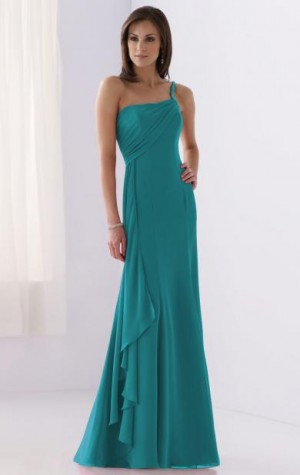 long green coast bridesmaid dresses on queeniebridal