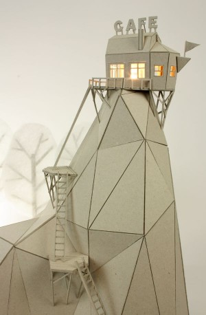 Cafe Mountain table lamp