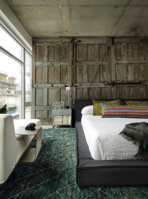 Concrete Jungle Apartment in River North Chicago by Project Interiors