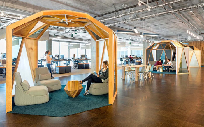 Creative Workspace Environment designed by O+A – InteriorZine