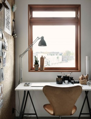 Eclectic Scandinavian style at it's best – Home Office