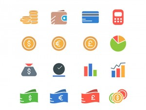 Free Colorful Financial Icons