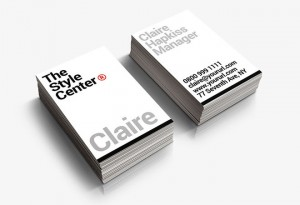 Free Typographic Business Card Template