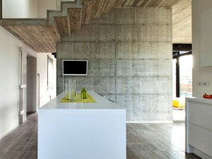 Giraldi Associati Architetti Design a Concrete House in Bologna – InteriorZine
