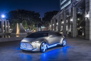 Mercedes' Vision Tokyo is a self-driving 'chill-out zone'