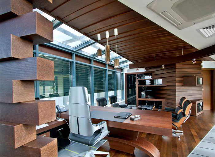 Modern Workplace Environment by Art New Vision – InteriorZine