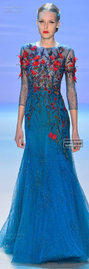 Monet's Midnight Stroll by Georges Hobeika | Georges Hobeika, Monet and Couture