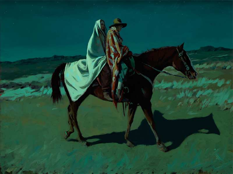 Western Paintings by Mark Maggiori | 2 Illustration Mag