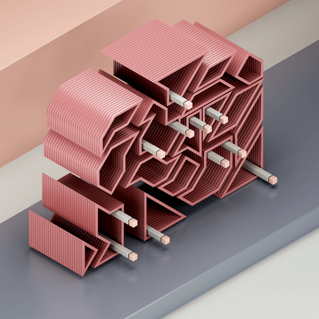Abstract Digital Illustrations by Jean-Michel Verbeeck | 2 Illustration Mag