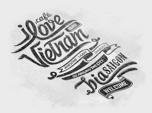 Vietnam Typography & Artwork