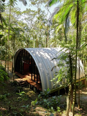 ARCA House is Like a Ship in the Middle of the Brazilian Atlantic Forest