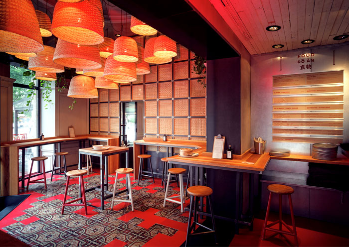 Baobao Asian Restaurant Decor – InteriorZine