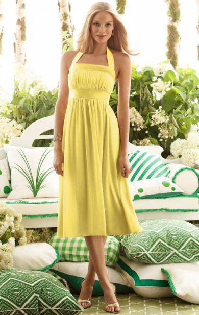 More yellow dress can be found on http://www.queeniebridaldress.co.uk/dress/fitted-short-2014-ye ...