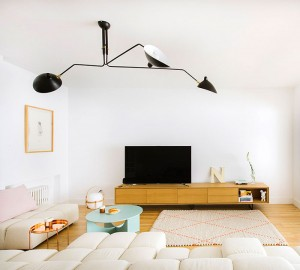 Inspiring Modern Apartment in Madrid by Nimu Studio – InteriorZine
