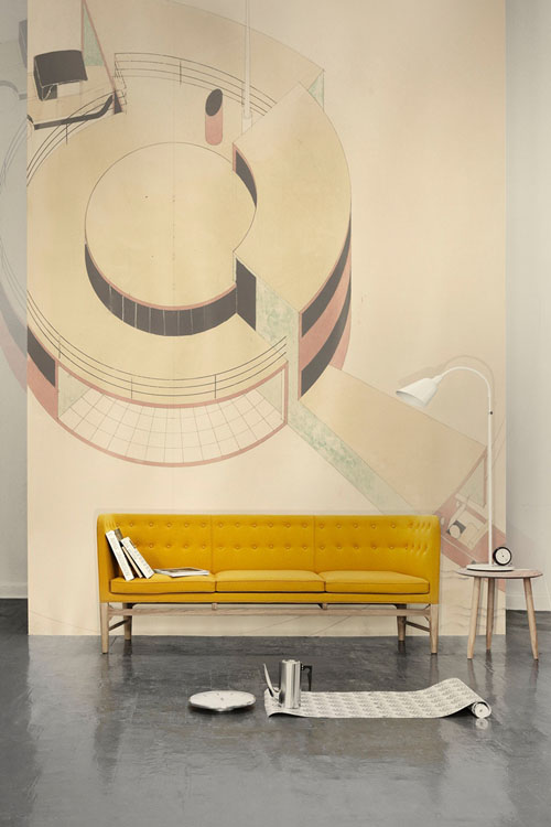 The Mayor sofa was created in 1939 by Arne Jacobsen