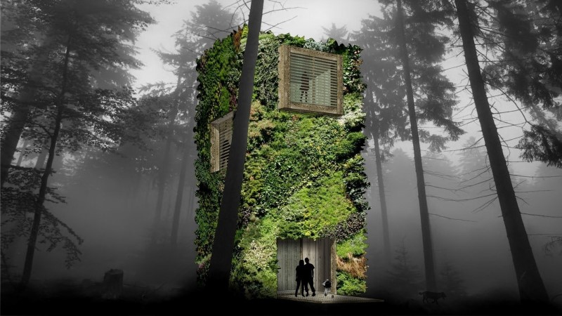 Sustainable Houses Designed as Trees by OAS1S