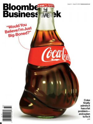 Bloomberg Businessweek cover by Justin Metz