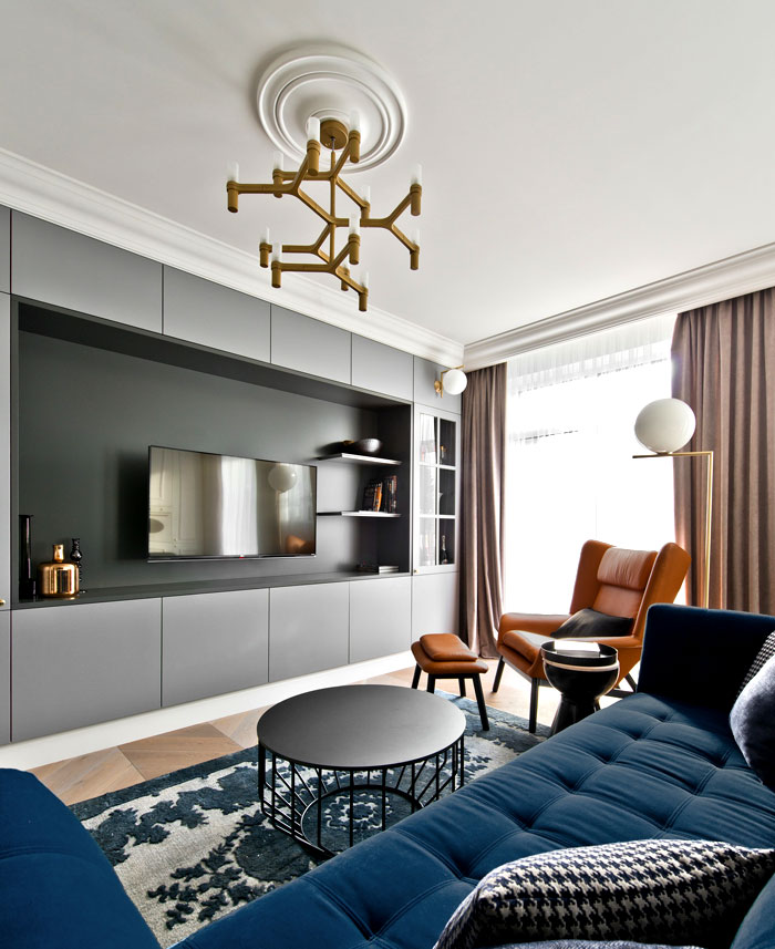 Elegant Apartment in Vilnius by Indre Sunklodiene – InteriorZine