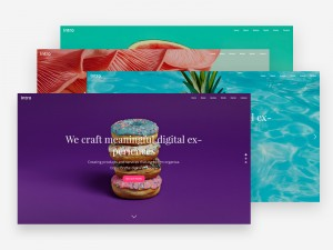 Here are 4 colourful intro/landing pages you can use for showcasing and promoting a product or f ...