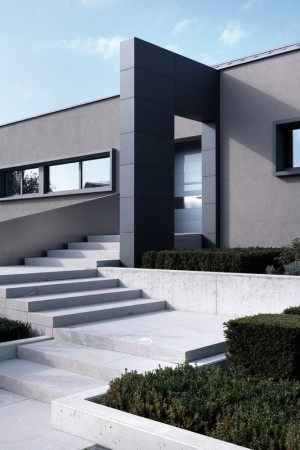 Modern house in Hassel, Luxemburg by Sandro Curreli