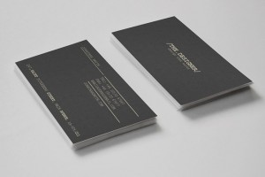 Minimal Business Card Template for Designer
