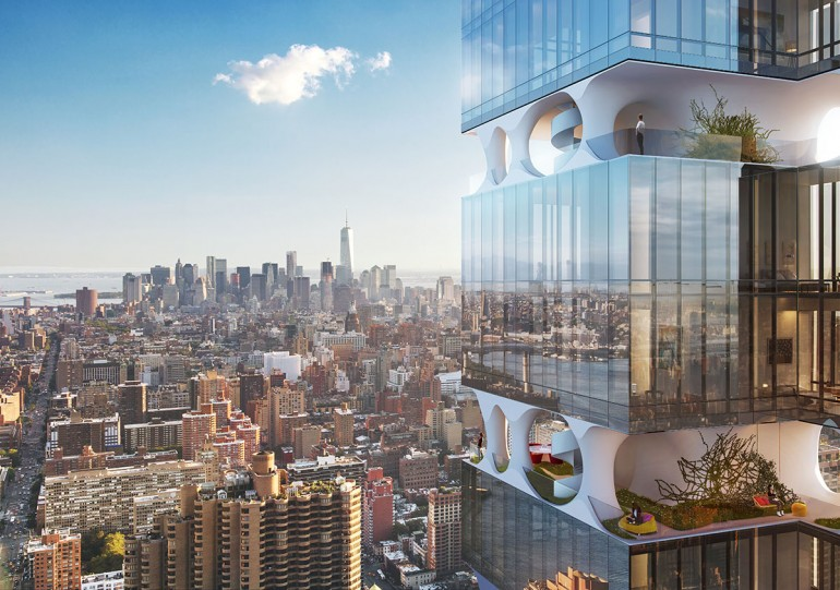 ODA Architecture Proposes An Ultra-Slender Residential Tower in Manhattan