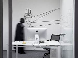 SiteGround Office Space Closely Connected with Star Wars – InteriorZine