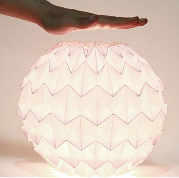 Being foldable paper light