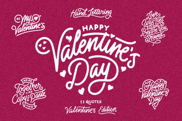Valentine's Day – Hand Lettering
