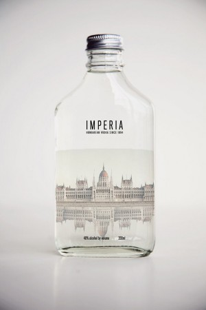 Imperia Hungarian Vodka Packaging
