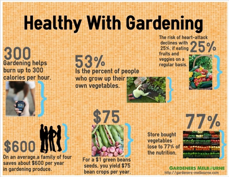 Healthy With Gardening. Gardening Tips and tricks from gardeners-melbourne.com