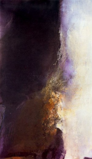 Cave to Canvas, Zao Wou-Ki, 21-1-85, 1985