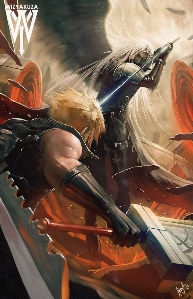 FINAL FANTASY VII BY CEASAR IAN MUYUELA