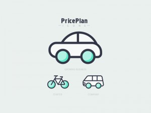 Pricing plans icons