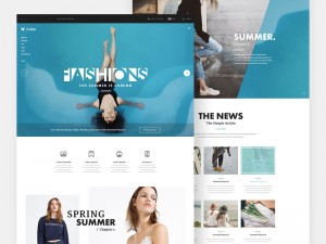 The Fox is a free multi-purpose website template with an elegant and modern design.
