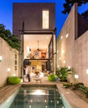 Modern Mexican House Located in Yucatan