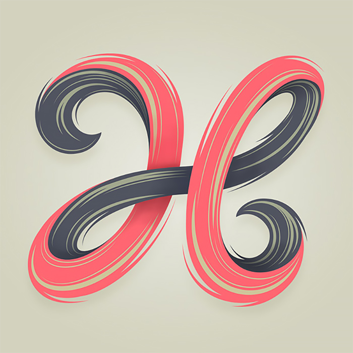 AlphaBlocks: Typographic Experiments by Mario De Meyer
