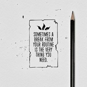 Sometimes! #deepbear #deep #sometimes #break #needabreak #rustic #modern #old #paper #quote #thu ...