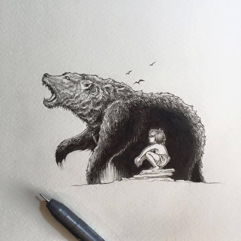 """The Jungle Book"" by Sketchy Stories"