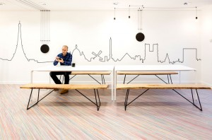Workspace Decor by Studio Razavi Architecture – #office, office design, office space, #int ...