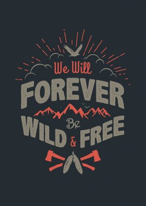"""WILD AND FREE"" by snevi"