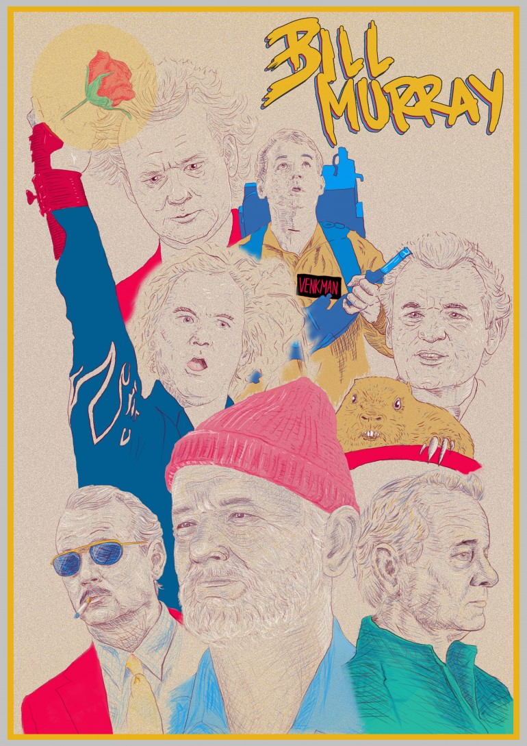 Bill Murray Illustartion