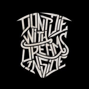 "Album cover project ""Don't Die WIth Dreams Inside"""