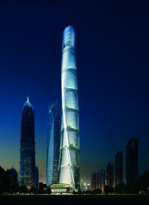 632 meter-tall Shanghai Tower Ranks as China's Tallest Building