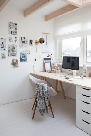 Ordinary attic to a fab work studio in Holland