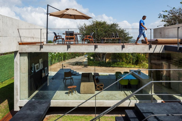 Two Beams House – Wiew, Ventilation and Natural Lighting