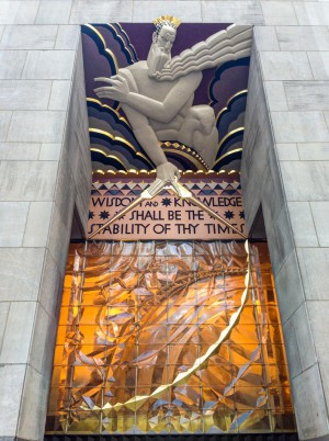 30 Rock art deco